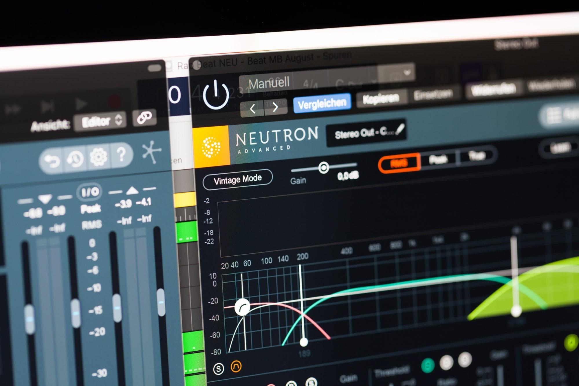 Musikproduktion, iZotope Neutron, STRAINX